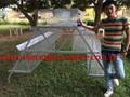 Taiyu Popular um tipo 3 Tiers e 4 Tiers bateria gaiolas para galinhas poedeiras