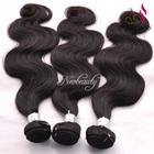 Neobeauty top selling human hair virgin brazilian hair body wave, tangle free