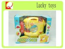 Boa qualidade b / o máquina de costura com luz e música para crianças, Plástico máquina de costura brinquedos
