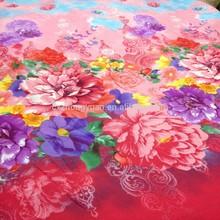 polyester 3D peach skin microfiber fabric for sofa