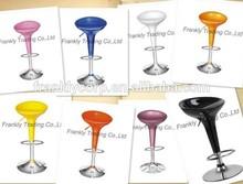 Commercial abs plastic swivel bar stool