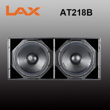 Dual 18inch 1800W bass line array speaker subwoofer/wholesale musical instruments
