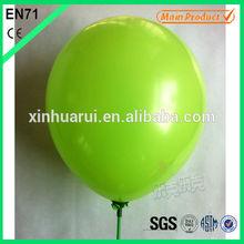 Big Round Latex Birthday Plain Green Balloon Inflatable Weight