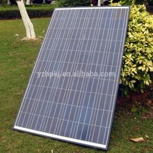 Monocrystalline silicon energy saving solar panel tempered glass