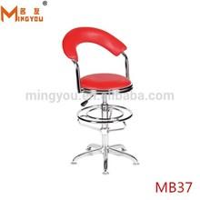 modern design durable metal china bar stool golden supplier