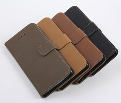 2015 New leather wallet for iphone6/plus , flip leather case for iphone 6