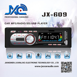 JXC-609 pioneer style fixed panel 1 din deckless car radio