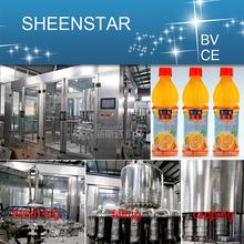 PLC control Full Automatic Fruit Juice Macking Machinery