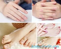 cotton spandex cover thermoplastic rubber gel jojoba olive oil vitamin e washable spa gel gloves