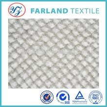 Plush spray pv fabric white designer replica fabric for new toys fabric