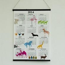 Customized costum cheap wall calendar design