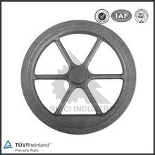 Custom manufacturing sand casting cast iron flywheel