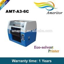 Digital plastic pen printing, lnkjet printing machine UV digital printer