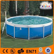 small cheap PVC spa inflatable swimming pool for buy