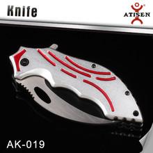 Newest 3Cr13+Aluminum coloring Knife Folding
