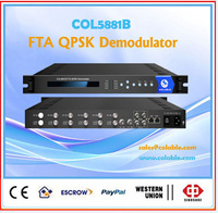 6 dvb-t2 tuners mux to 2 group asi or ts over udp ip COL5881B