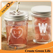 Cheap Price 8oz Glass Candy Mason Jar Promotion