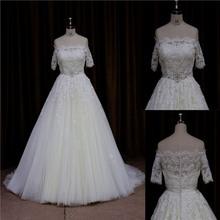 2015 wholesale Purely manual beaded sash 2011 ladies fashion wedding dress