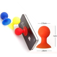 Cheap Octopus Silicone Stand for Mobile Phone Accessories/iPhone 6 accessories