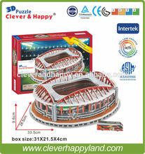 Sport Lisboa e Benfica SL Benfica Estadio da Luz 3D Puzzle Stadium Model Arena FC Football Club Home