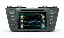 In-dash Car stereo radio/dvd/gps/mp3/3g multimedia system for Mazda 5