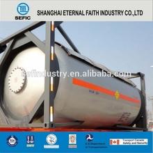2015 Latest Design Low Pressure Tank Container Petrol Storage Tank