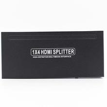 TOP-SPL 1X4A plastic hdmi splitter 1x4