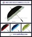 Todos resistente ao vento solar do guarda-chuva de golfe nova invenção 2015