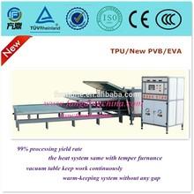 Three Tables Automatic EVA film Laminating Architectural Glass Machine