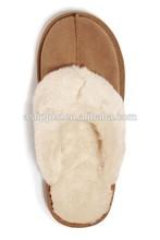 classic women men winter indoor slipper cheap slipper sheepskin slipper