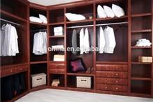 Modern high end customized fancy funiture veneer bedroom furniture