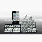 Standard Slim Ergonomics Folding Multimedia Style Bluetooth keyboard