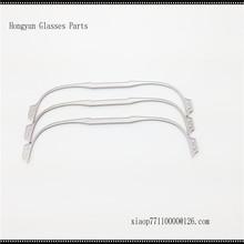 Stainless Steel semi-rimless eyeglass frame front
