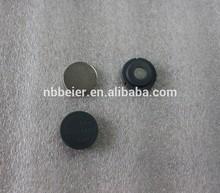 plastic round name badge magnet/badge magnetic fasteners