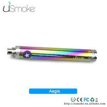 uSmoke upgraded 1300mah e-cig vv battery Aegis cute electronic cigarette