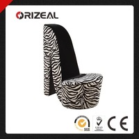 High Heel Shoe Fabric Chair OZ-SW-067
