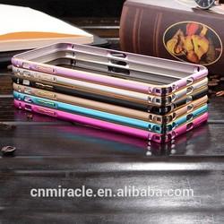 High quality for iPhone 6 aluminum case bumper case,Anti-scratch acrylic for iPhone 6 case alumimum
