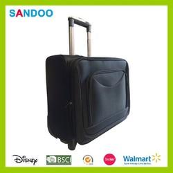 Wheel cabin laptop business suitcase briefcase trolley case newest black trolley laptop bag