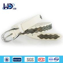 New Arrival Single Pin Buckles Ladies Metal Decoration PU Belts