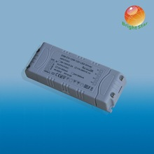 CE SAA approval TRIAC Dimmable 12W 24V LED Strip Light Driver Noise free, flicker free dimmale led driver