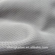 100 polyester mesh fabric polyester bird eye knitting mesh fabric/jersey fabric material