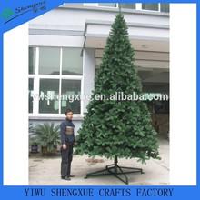 giant traditional Christmas Trees PVC Christmas tree decoration