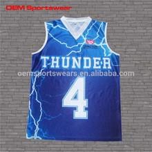Wholesale sportswear OEM youth mesh basketball jersey