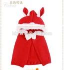 Cute Rabbit Knitted Babay Cloak