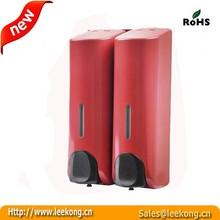 350ml*2 wall mounted bathroom/kitchen Soap/Shampoo Sanitizer Dispenser