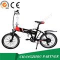 Liga de alumínio aro material mulher mini-dobrável bicicletaelétrica
