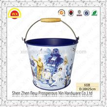 Wholesale brush pot baby bucket ice stainless steel bucket 20l
