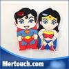 cartoon soft case for iphone 5 , cartoon superman case for iphone 5 , 3D superman soft case for iphone 5s