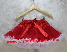 2014 Hot sale chiffon nylon super fluff pettiskirt for girls