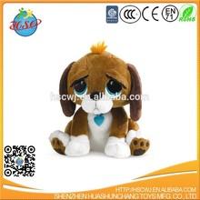 Promotional custom plush toy,Promotional custom cuddly big eyes plush dog
